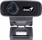 Web-камера для компьютеров Genius FaceCam 1000X V2, HD 720P/MF/USB 2.0/UVC/MIC (32200003400)